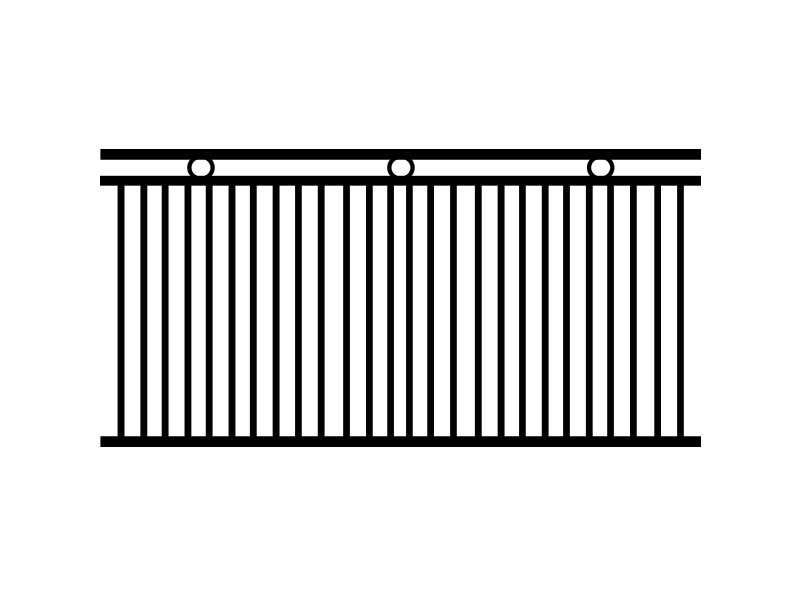 intermittent fence