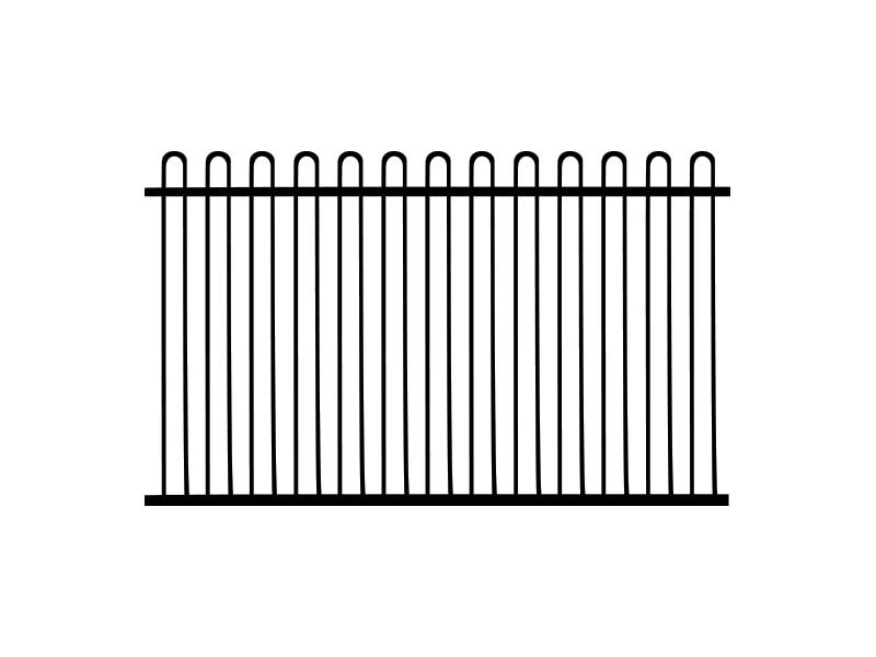 loop top fence