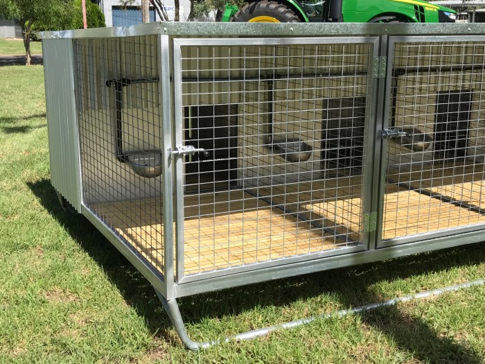 Dog Run Kennel Cage